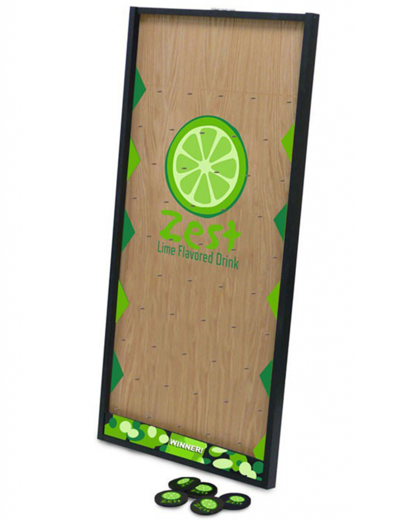 Prize Drop Game Board